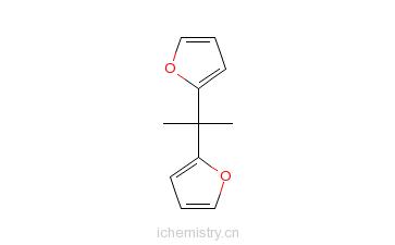 CAS:17920-88-6_2,2-二(2-呋喃基)丙烷的分子结构