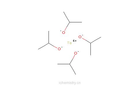 CAS:1795-64-8_异丙醇碲(IV)的分子结构
