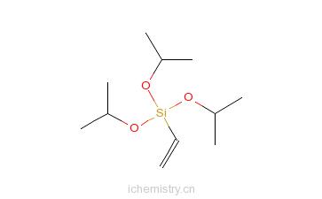 CAS:18023-33-1_乙烯基三异丙氧基硅烷的分子结构