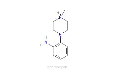 CAS:180605-36-1_2-(4-甲基-1-哌嗪)苯胺的分子结构
