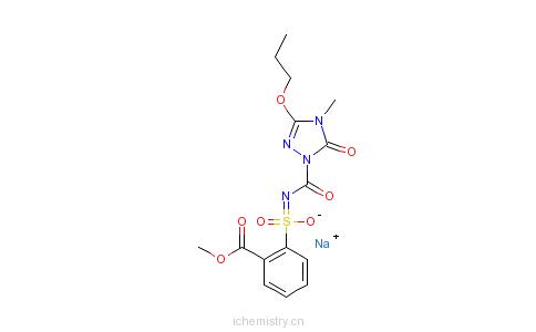 CAS:181274-15-7_丙苯磺隆的分子结构