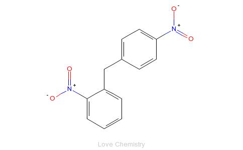 CAS:1817-75-0_2,4-二苯基甲烷二硝基的分子结构