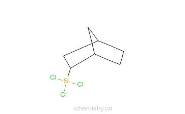 CAS:18245-29-9_二环[2.2.1]己-乙基三氯硅烷的分子结构