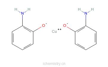 CAS:18347-30-3_二(2-氨基苯酚根-N,O)合酮的分子结构