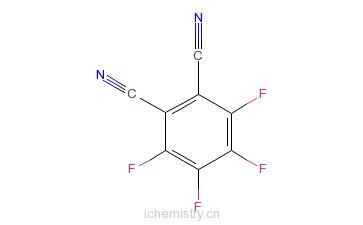 CAS:1835-65-0_3,4,5,6-四氟邻苯二腈的分子结构