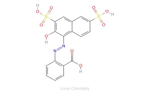 CAS:1836-22-2_酸性铬红的分子结构
