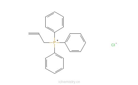 CAS:18480-23-4_烯丙基三苯基氯化膦的分子结构