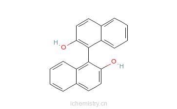 CAS:18531-99-2_S-1,1'-联-2-萘酚的分子结构