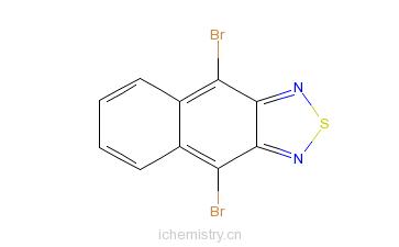 CAS:18557-22-7_4,9-二溴萘并噻二唑的分子结构