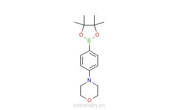 CAS:186498-02-2_4-吗啉苯硼酸的分子结构