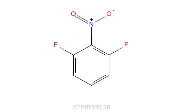 CAS:19064-24-5_2,6-二氟硝基苯的分子结构