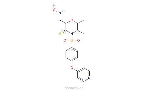 CAS:192329-42-3_普马司他的分子结构