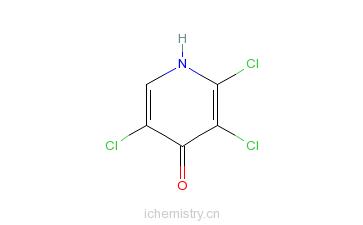 CAS:1970-40-7_三氯吡啶醇的分子结构
