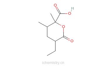 CAS:19776-79-5的分子结构
