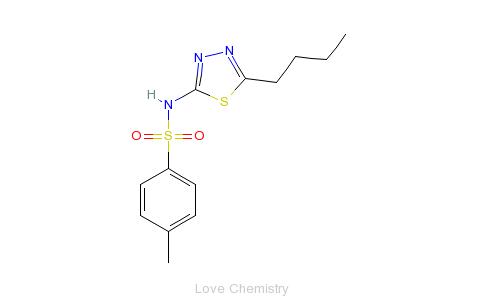 CAS:19918-49-1的分子结构