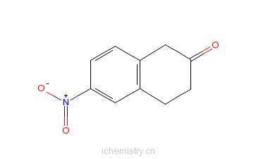 CAS:200864-16-0_6-硝基-3,4-二氢-1H-2-萘酮的分子结构