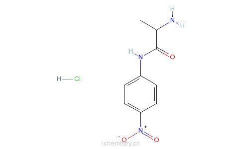 CAS:201731-77-3_H-D-Ala-pNA.盐酸盐的分子结构
