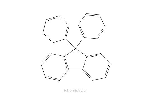 CAS:20302-14-1_9,9-二苯基芴的分子结构
