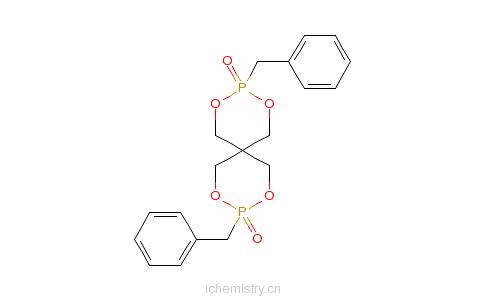 CAS:20544-37-0_3,9-双(苯基甲基)-2,4,8,10-四氧杂-3,9-二磷杂螺[5.5]十一烷-3,9-二氧化物的分子结构