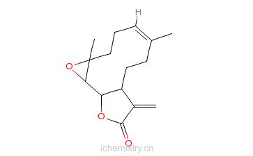 CAS:20554-84-1_小白菊内酯的分子结构