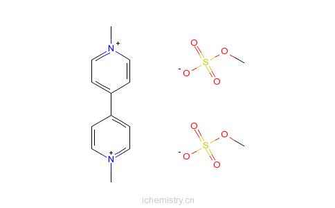 CAS:2074-50-2_百草枯的分子结构