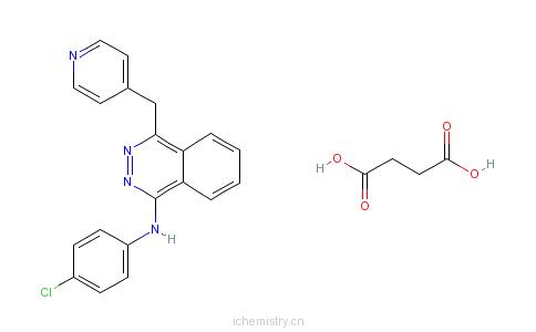 CAS:212142-18-2_琥珀酸瓦他拉尼的分子结构