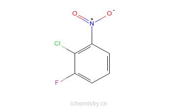 CAS:21397-07-9_2-氯-3-氟硝基苯的分子结构