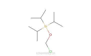 CAS:217300-17-9_(异丙氧基硅)氯甲烷的分子结构