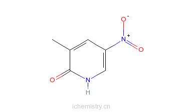 CAS:21901-34-8_2-羟基-5-硝基-3-甲基吡啶的分子结构