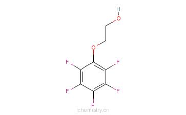 CAS:2192-55-4_2-五氟苯氧基乙醇的分子结构