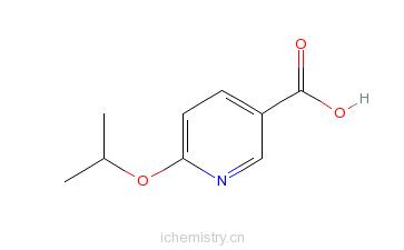 CAS:223127-05-7_2-异丙基醚-5-羧基吡啶的分子结构