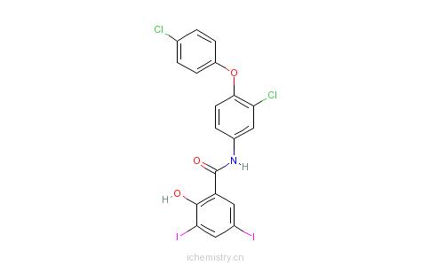 CAS:22662-39-1_雷复尼特的分子结构