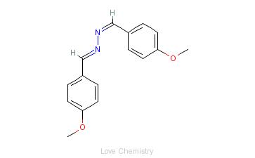 CAS:2299-73-2_4-甲氧基二氮苯甲醛的分子结构