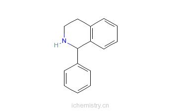 CAS:22990-19-8_1-苯基-1,2,3,4-四氢异喹啉的分子结构