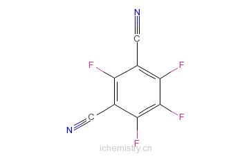 CAS:2377-81-3_2,4,5,6-四氟间苯二甲腈的分子结构
