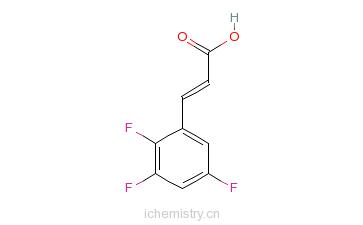 CAS:237761-79-4_2,3,5-三氟肉桂酸的分子结构