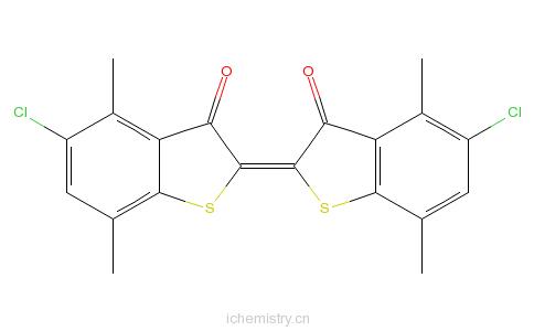 CAS:2379-75-1_还原紫3的分子结构