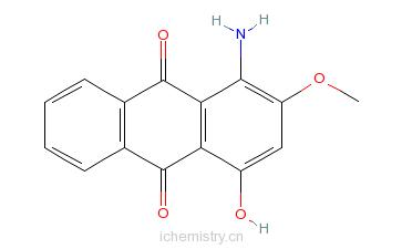 CAS:2379-90-0_分散红RLZ的分子结构