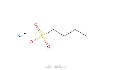 CAS:2386-47-2_1-丁磺酸的分子结构
