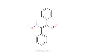 CAS:23873-81-6_二苯基乙二肟的分子结构