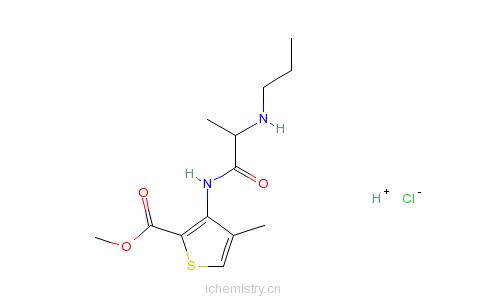 CAS:23964-57-0_盐酸阿替卡因的分子结构