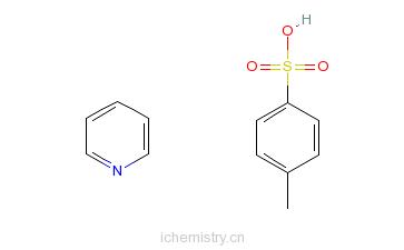 CAS:24057-28-1_4-甲基苯磺酸吡啶�f的分子结构