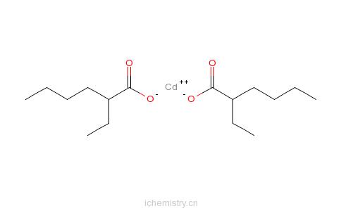 CAS:2420-98-6_2-乙基己酸镉的分子结构