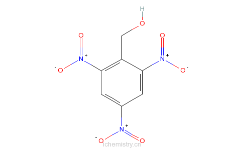 CAS:24577-68-2_2,4,5-三硝基苯甲醇的分子结构
