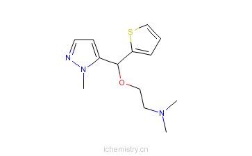 CAS:247046-52-2_地洛培汀的分子结构