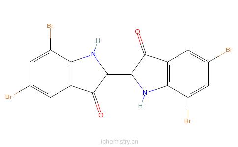 CAS:2475-31-2_溴靛蓝的分子结构
