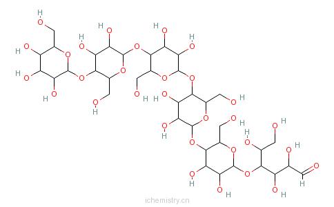 CAS:2478-35-5_纤维六糖的分子结构