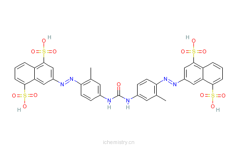 CAS:25738-24-3_直接耐晒黄RS的分子结构