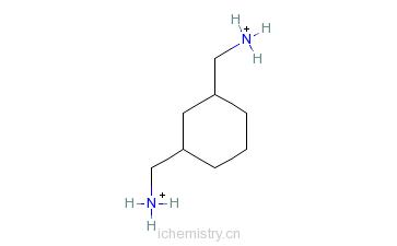 CAS:2579-20-6_1,3-环己二甲胺的分子结构