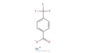 CAS:25832-58-0_4-三氟甲基苯甲酸钠的分子结构